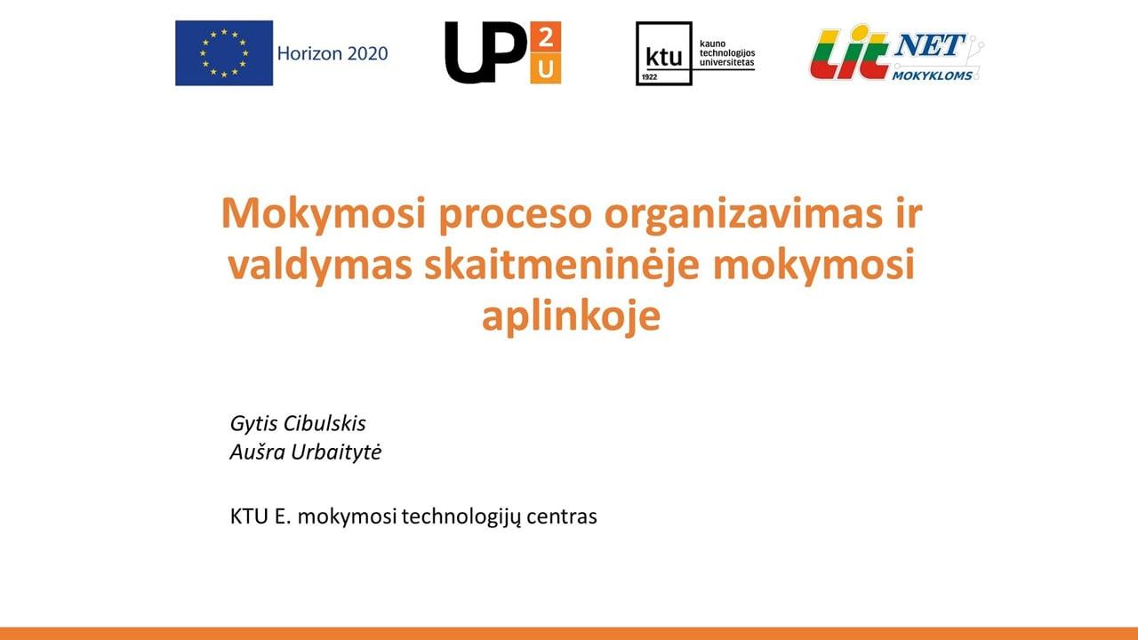 Up2U 3-iasis virtualus susitikimas 2019-09-25